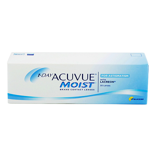 1-Day Acuvue Moist for Astigmatism 30 ks